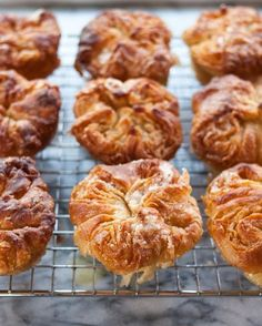 to Make Kouign Amann Never mind the cronuts. How to Make Kouign Amann at Home Cooking Lessons from The KitchnNever mind the cronuts. How to Make Kouign Amann at Home Cooking Lessons from The Kitchn Instant Yeast, Cookies Et Biscuits, Croissants, Sweet Tooth, Sweet Treats, Bakery, Farmers Market, Traveling, Breakfast Pastries