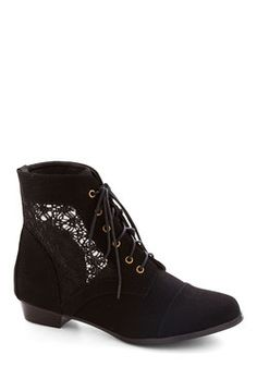 Mesh Well Together Bootie, #ModCloth