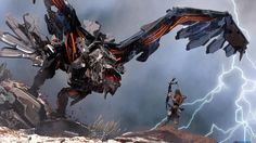 Images for news: E3 2015: Horizon Zero Dawn is Sony's big first-party announcement, a robot dinosaur hunting RPG