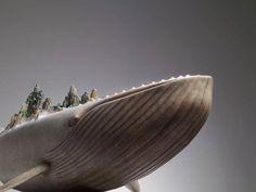 Les sculptures de l'artiste chinoisWang Ruilin, basé àBeijing, qui imagine de superbes animaux fantastiques et surréalistes, êtres gigantesques àmi-c
