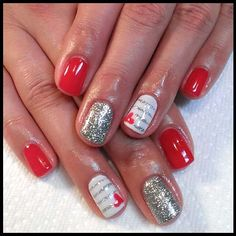 60 Romantic and Lovely Nails Art for Valentine's Day