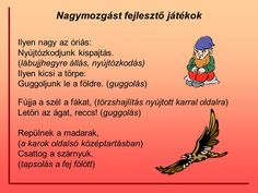 """ Fújja a szél a fákat…"" Mozgással kísért mondókázás - ppt letölteni 1st Grade Crafts, Yoga For Kids, Ice Breakers, Stories For Kids, Special Needs, Montessori, Activities For Kids, Verses, Baby Kids"