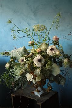 Queen Anne's Lace Love via Haskell Harris @magpiebyhaskellharris.blogspot.com