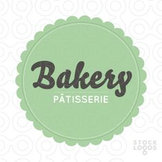 Exclusive Customizable Logo For Sale: Bakery - Pâtisserie | StockLogos.com