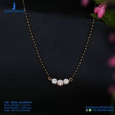 Real Diamond Luxury Design Get in touch with us on Diamond Mangalsutra, Gold Mangalsutra Designs, Gold Jewellery Design, Gold Jewelry, Beaded Jewelry, Mangalsutra Bracelet, India Jewelry, Diamond Jewellery, Diamond Earrings