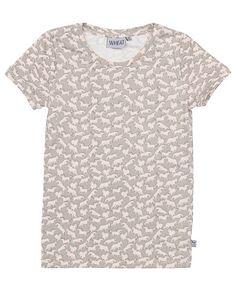 Mega seje Wheat Cilia T-shirt Wheat Overdele til Børnetøj i behagelige materialer