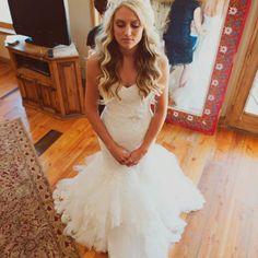 Getting Ready | Maggie Sottero Adalee | Hidden Springs Idaho