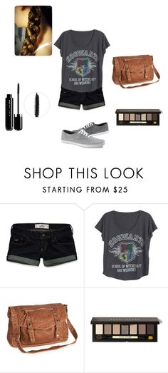 """""""Hogwarts casual"""" by elena-09 ❤ liked on Polyvore featuring Hollister Co., Aéropostale, Bobbi Brown Cosmetics and Marc Jacobs"""