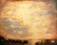 Gold Sky by FiguraArto on deviantART Gold Skies, Fantasy Landscape, Landscape Paintings, Glow, Sky, Illustration, Heaven, Heavens, Landscape