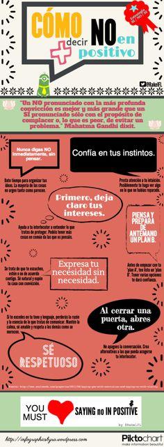 Como decir NO en las Redes Sociales vía http://infographicsbyra.wordpress.com #MUN2redes