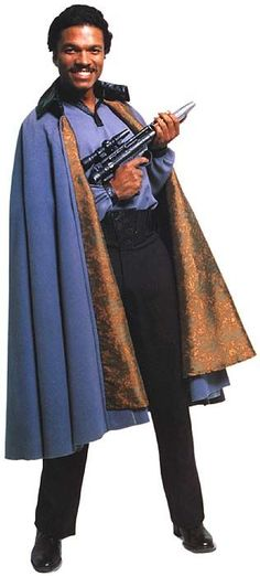 Lando Calrissian from Star Wars Episode V The Empire Strikes Back Star Wars Characters, Star Wars Episodes, Billy Dee Williams, Lando Calrissian, Donald Glover, Star Wars Images, Star Wars Costumes, Original Trilogy, The Best Films