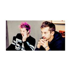 tell me it's okay to be happy now; ❤ liked on Polyvore featuring twenty one pilots and 21p