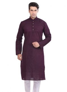 f336f06dec latest fashion kurta pajama in Wine color