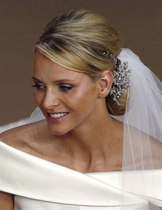 Wedding of Prince Albert II of Monaco and Princess Charlene, July 2, 2011. Charlene looked magnificent!