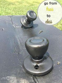spray paint on pinterest oil rubbed bronze painted door knobs and. Black Bedroom Furniture Sets. Home Design Ideas