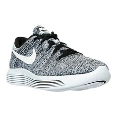 Spring Summer 2018 New Arrival Womens Nike LunarEpic Low Flyknit Black  White Oreo