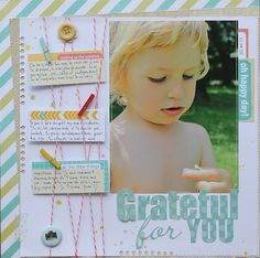 Love the colors, the tiny clothespins and the twine! - C'est la vie- sophie Crespy