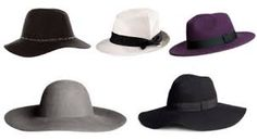 Znalezione obrazy dla zapytania kapelusze
