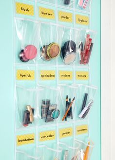 How To Organize Makeup – Organization Tips