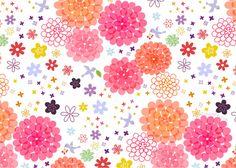 パターンイラスト 花柄