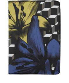 Pierre Hardy Black Primary Perspective Lilies Passport