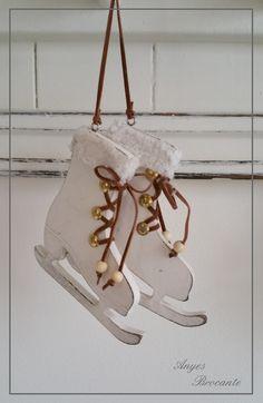 Decoratie schaatsen ♥
