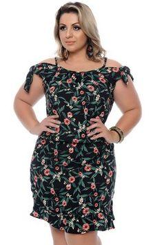Vestido Plus Size Claudia