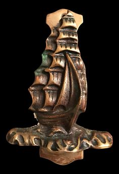 Metal Ship Door Knocker | chairish.com
