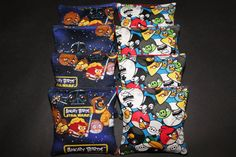 ANGRY BIRDS Star Wars Cornhole Bean Bags 8 ACA by lots2ofr2, $24.99