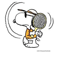 Tennis pro Snoopy