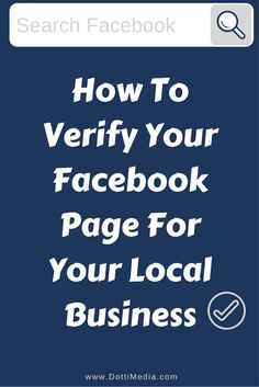 I'm gonna show you how to verify your local business page on Facebook. Now this isn't the blue verification tick that you see on the pages of your favourite celebrities. This is a grey tick specifically for local businesses. Boss Me, Facebook Business, Business Pages, Verify, Instagram Story, Jokes, This Or That Questions, Grey, Celebrities