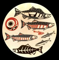 Salmon: print by Roy Henry Vickers
