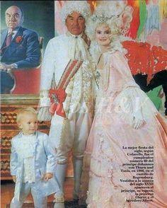 Gloria von Thurn und Taxis organizo la mejor fiesta de los 80's ...