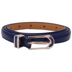 Stylehoops Blue Stylish Loop Glossy Belt @ Rs. 349/- #glossybelt #ladiesbelt  #bucklebelt #stylishbelt #belts #fashionbelt