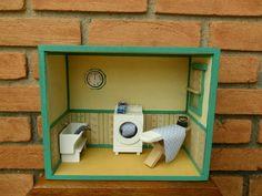 Miniatura de Lavanderia | Vivi Madeirinhas | 19636A - Elo7