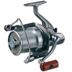 Tournament Basia Spinning Reel, 4.1:1 Gear Ratio, 7bb Bearings, 22 lb Max DragManufacture ID: BAS45QDADaiwa's ultimate long distance carp spinning reel features a lightweight Magnesium alloy body and rotor for minimum weight. A large diameter, ABS Long Cast aluminum spool makes getting maximum distance a breeze, even with lighter weight baits. The Quick Drag (QD) system developed specifically for carp fishing allows changing from free-spooling to maximum drag with less than a full turn of…