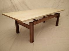 Coffee Table Plans, Walnut Coffee Table, Diy Coffee Table, Coffee Table Design, Modern Coffee Tables, Live Edge Furniture, Furniture Projects, Table Furniture, Wood Projects