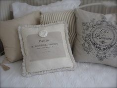 pillows on my day bed...