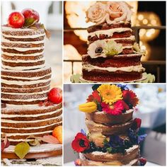 New trend minimalist wedding cakes