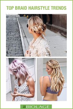 Looking for hair-spiration for any occasion? These top trending braids are here top stay through 2018!