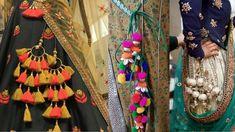 Latkan Designs for Blouse/ Lehenga/ Kurti Work Blouse, Blouse Dress, Blouse Lehenga, Indian Designer Wear, Bridal Looks, Indian Wear, Elegant Dresses, Blouse Designs, Dress Outfits