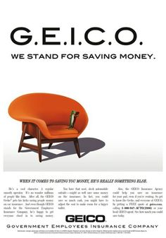 GEICO Mad Men Newsweek Ad Campaign