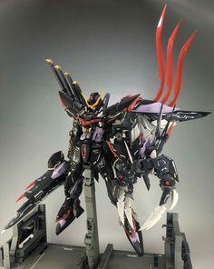 Gundam - Blitz Custom Build by Muruching