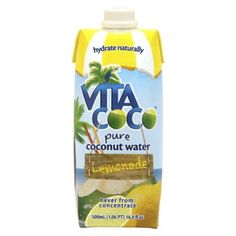 I'm learning all about Vita Coco Lemonade Pure Coconut Water 16.9 oz at @Influenster!