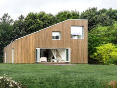 Beautiful Eco House built from shipping containers designed in Denmark, assembled in China. Well, if it was using containers from China in China it might be a bit more Eco.