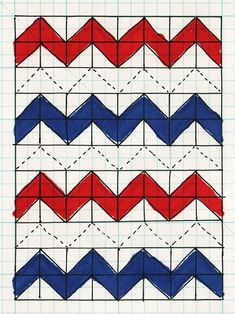 Chevron Quilt Pattern by azplatts