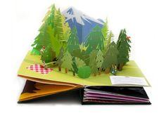 Paper ART-pop up books :)