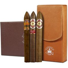 Diamond Crown Cigars 3 Pack Gift Set with Case $54.95