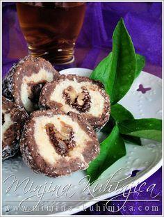Image may contain: food Fig Recipes, Baking Recipes, Cookie Recipes, Torte Recepti, Kolaci I Torte, Bosnian Recipes, Croatian Recipes, Köstliche Desserts, Delicious Desserts