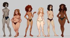 ★ || CHARACTER DESIGN REFERENCES…